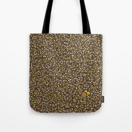 Yellow Dot Color Design Tote Bag