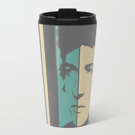Bob Dylan Retro Homage Travel Mug