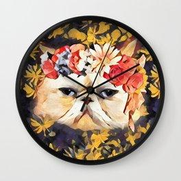 Lord Aries Cat - Art 003A Wall Clock
