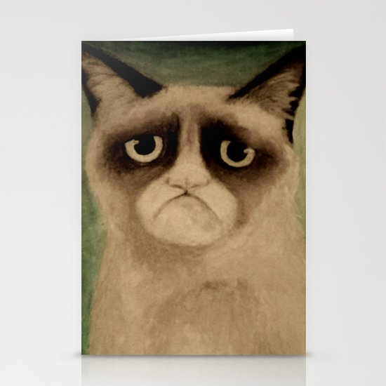 Grumpy! Stationery Cards