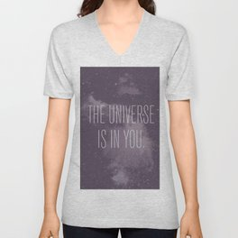 Forged in the Stars Unisex V-Neck