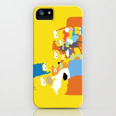 The Simpsons - Family Slim Case iPhone (5, 5s)