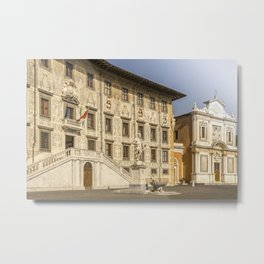 Piazza dei Cavalieri knights square Pisa Tuscany Italy Metal Print