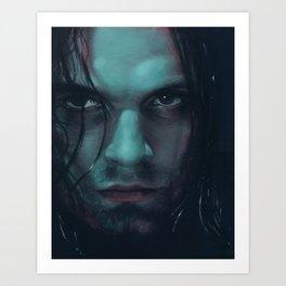 Bucky Barnes - Winter Soldier Art Print