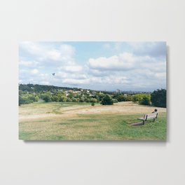 View from Parliament Hill in London Metal Print