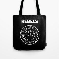 I Wanna Be a Rebel Tote Bag