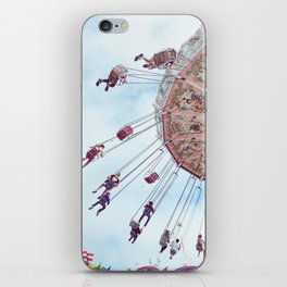 Swing by the Fair iPhone Skin