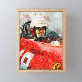 Lorenzo Bandini Close Framed Mini Art Print