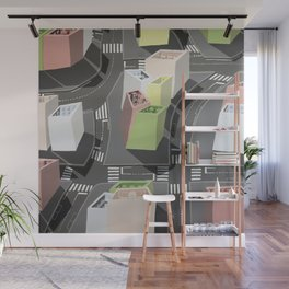 Inside-out - urban living Wall Mural