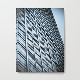 Skyscraper Abstract Metal Print