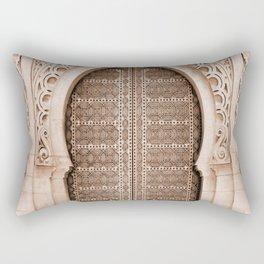 Moroccan Travel Door Rectangular Pillow