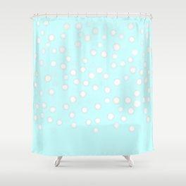 Neige du matin Shower Curtain