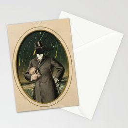 The Gentleman Caller II Stationery Cards