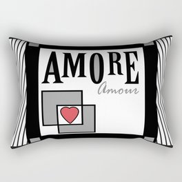 "A series of "" Favorite pillow "". Love. Rectangular Pillow"