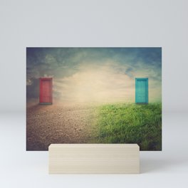 environment change Mini Art Print