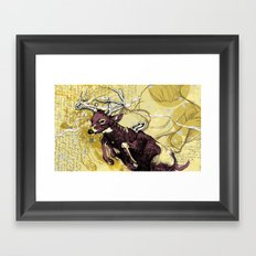 Win Framed Art Print