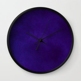 Bright Velvet Wall Clock