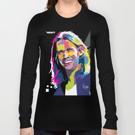 Myles Kennedy Smile WPAP Long Sleeve T-shirt