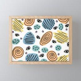 FIM DE CARNAVAL Framed Mini Art Print