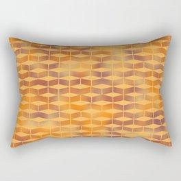 Geometro Blocks Rectangular Pillow