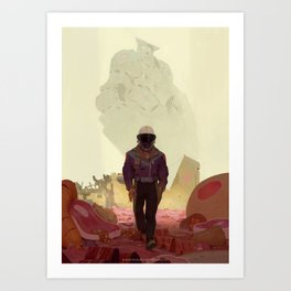 Fornax Void and the Meat King Art Print