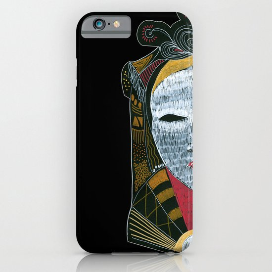 Black MASK iPhone & iPod Case