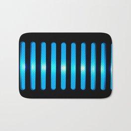 Blue Power Up Bath Mat