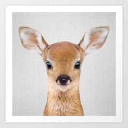 6f983b285805a Baby Deer - Colorful Art Print