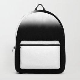 Black White Split Fade Backpack