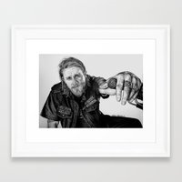 sons of anarchy Framed Art Prints featuring Sons of Anarchy by waynemaguire777