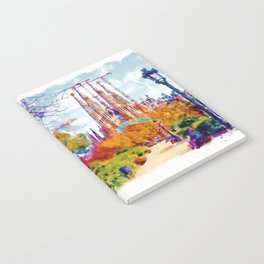 La Sagrada Familia - Park View Notebook