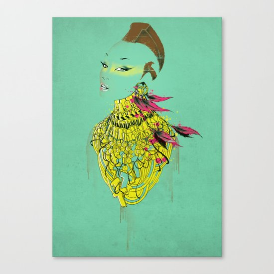 Mrs.T Canvas Print
