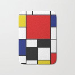 Piet Mondrian Bath Mat