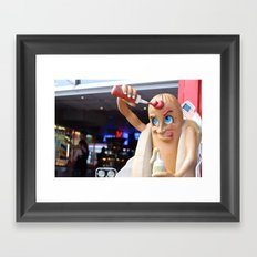 ketchup Framed Art Print