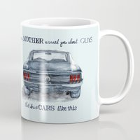 mustang Mugs featuring Mustang by dareba