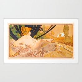 "Alphonse Mucha ""Dawn"" Kunstdrucke"