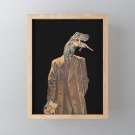 Reptilians Framed Mini Art Print