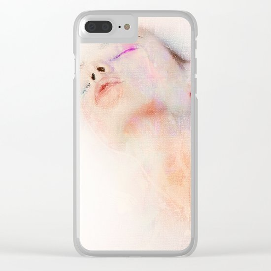 I dreamed of her again Clear iPhone Case