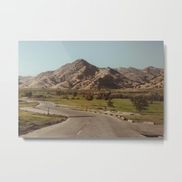 Sierra Landscape Metal Print