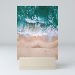 Vintage Aerial Beach Mini Art Print