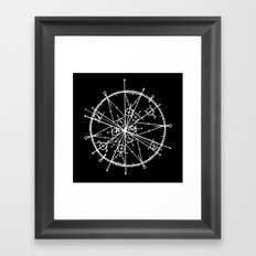 Tribute to Pi Framed Art Print