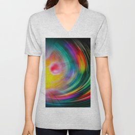Abstract Perfektion - Atrium Unisex V-Neck