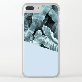 Flowery Nature I Clear iPhone Case