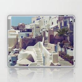 Streets of Santorini III Laptop & iPad Skin