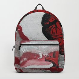 3 Visions Art Heartbeat Backpack