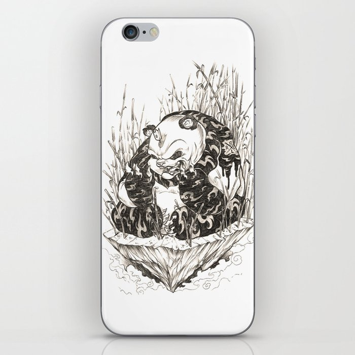 Pandamonium iPhone Skin
