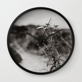 Point Reyes Wildflower Wall Clock