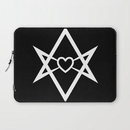 Thelema Heart Laptop Sleeve