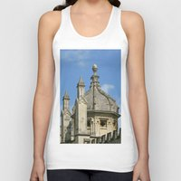 spires Tank Tops featuring Spires of All Souls by Ann Horn