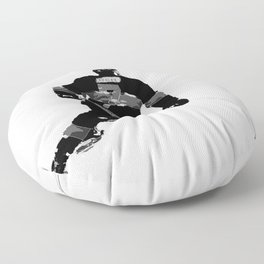 Born to Skate - Hockey Player Floor Pillow